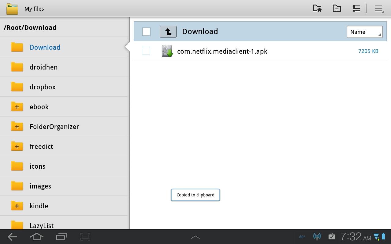 Streaming Netflix on the Galaxy Tab 10 1 - DeviceGuru